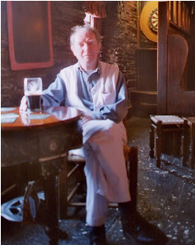 Dedsmond O'Grady, poet, Kinsale, May-2004